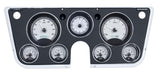 VHX-67C Chevy Pickup Dash Analog Clock / Silver Face White Backlighting