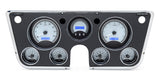 VHX-67C Chevy Pickup Dash Digital Clock / Silver Face Blue Backlighting
