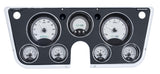 VHX-67C Chevy Pickup Dash Digital Clock / Silver Face White Backlighting