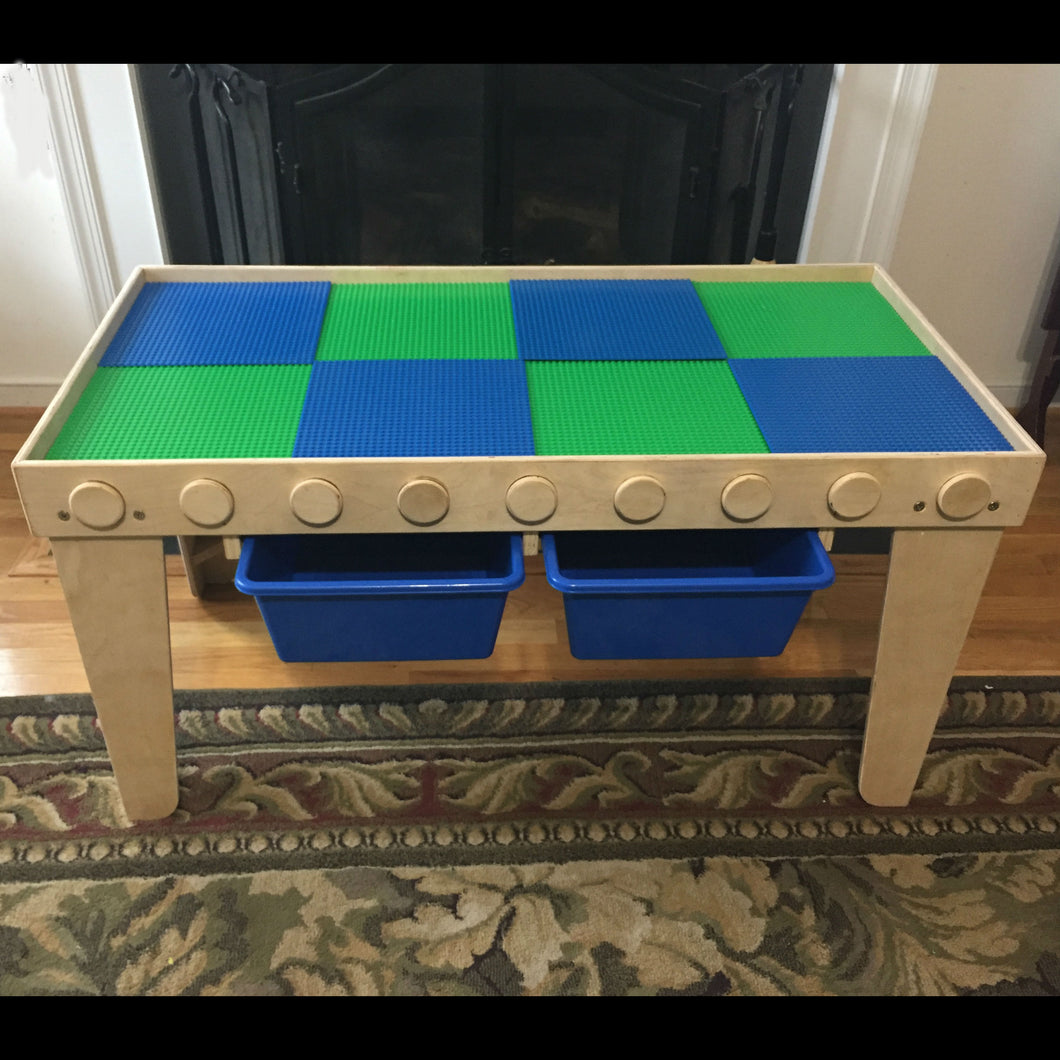 Exceptionnel Custom Built Lego Table Blue/Green   The Nine 4