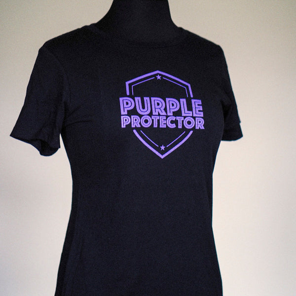 Purple Protector Women's Tee