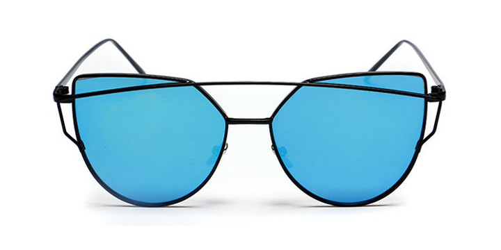 Cat Eye Twin-beam Sunglasses