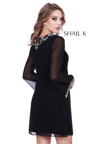 Long sleeve A-Line Tunic Style Dress 21114