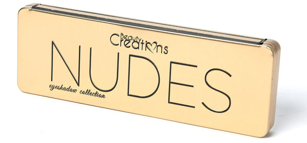 Beauty Creations Cosmetics NUDES EYESHADOW PALETTE