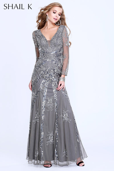 Shail K. USA Style 1282-gray View #1