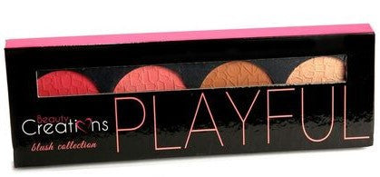 Beauty Creations Cosmetics PLAYFUL BLUSH BRONZER & HIGHLIGHT PALETTE
