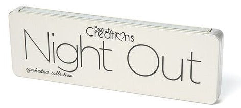 Beauty Creations Cosmetics NIGHT OUT EYESHADOW PALETTE