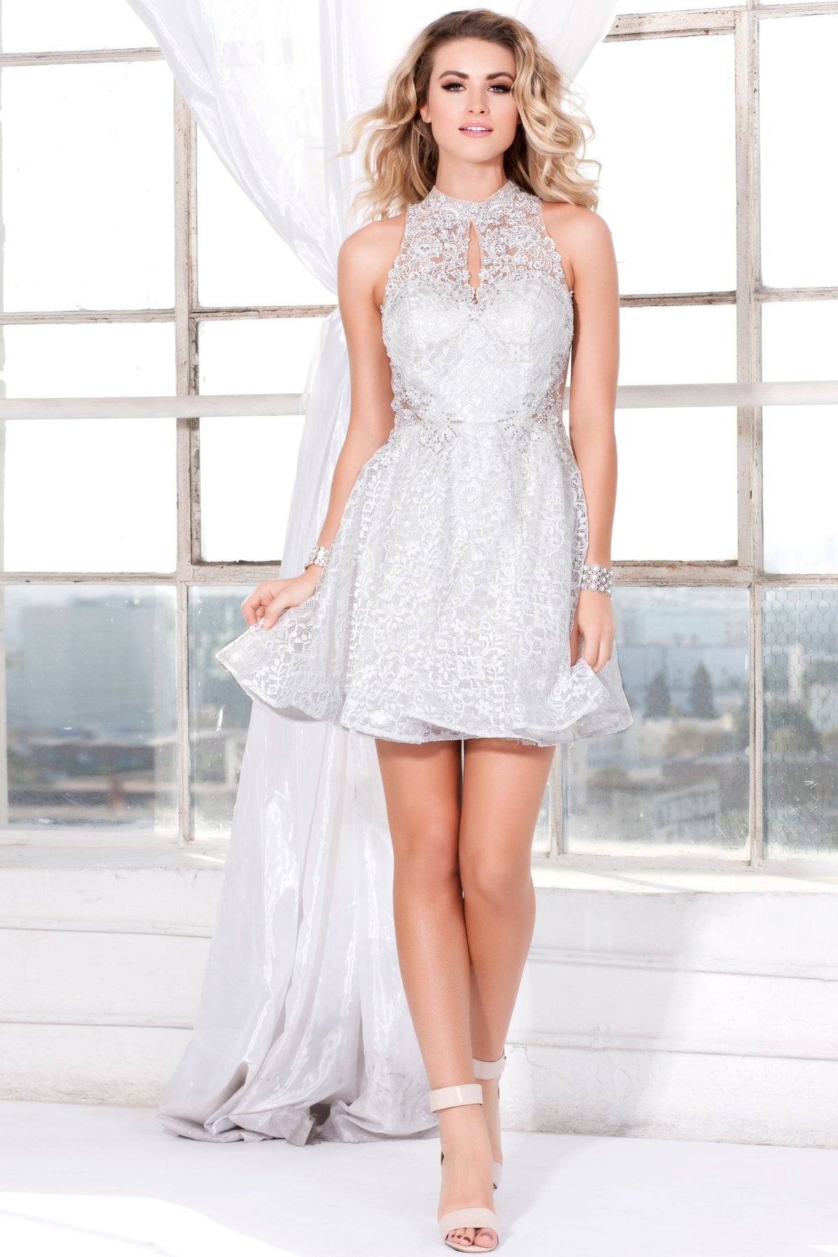 Shail K. USA Style 4083-IVORY View #1