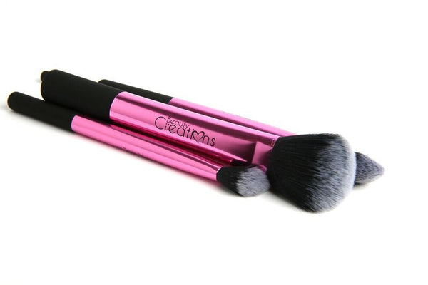 Beauty Creations Cosmetics 5PC PINK LUXE BRUSH SET