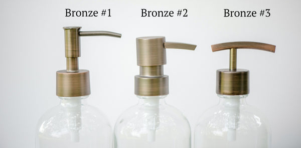 bronze replacement pump options, one burch way