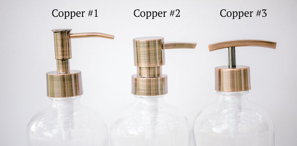 copper replacement pump options, one burch way