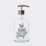 stacked farm animal farmhouse soap dispenser, cow, pig, rooster soap dispenser, farmhouse kitchen decor, one burch way