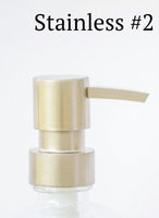 stainless soap pump, one burch way