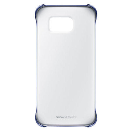 Samsung Galaxy S7 clear cover (blå) (2432961216595)