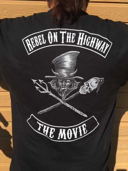 Rebel on the Highway Long Sleeve Voodoo Shirt