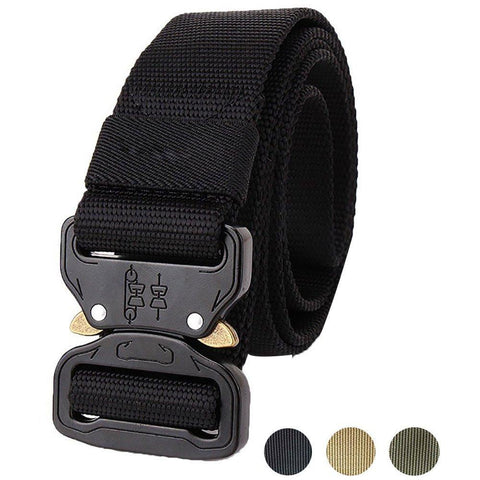 Heavy Duty Quick Release Tactical Belt