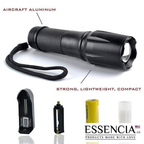 G700 TACTICAL FLASHLIGHT - 2000 LM - 5 MODES