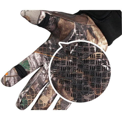 Camo Hunting Gloves - Anti-slip & Adjustable - Essencia.co USA