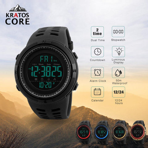 Kratos Core - Military Outdoor Watch - Essencia.co USA