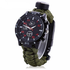 The Patriot - 5-in-1 Military Survivalist Watch - Essencia.co USA
