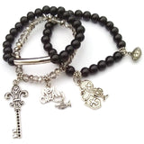 New Orleans Saints Bracelet Set