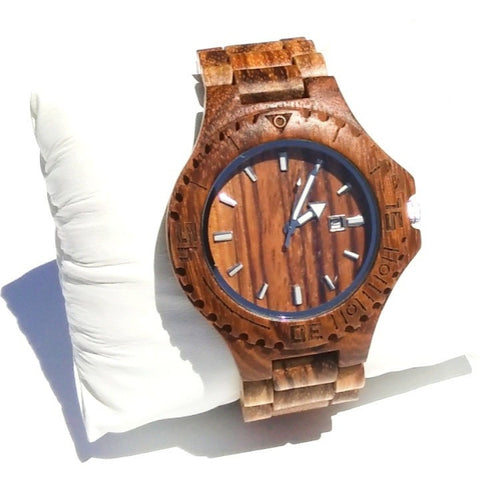 Natural Wood Wristwatch