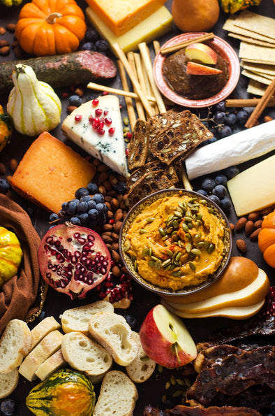 Creating a Harvest Cheeseboard that will wow your family & guests!
