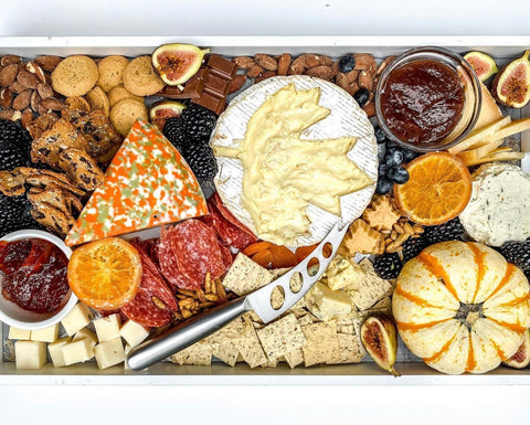 new england cheese board