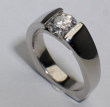 Platinum Bridge set ring