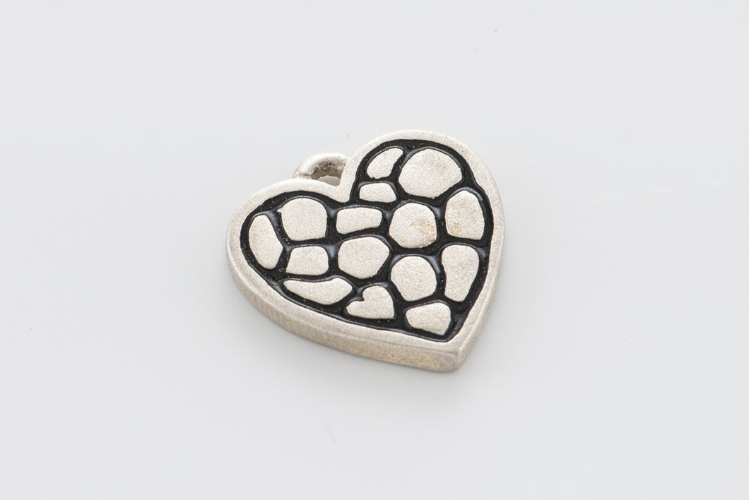 Sterling Silver Heart Pendant Regular