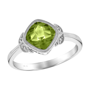 Timeless in Peridot Ring