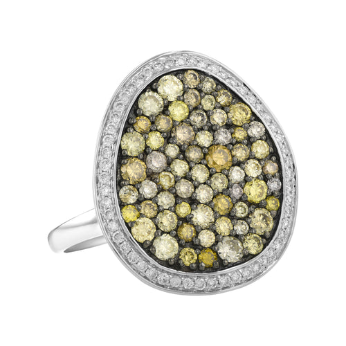 Sea of Diamonds Ring