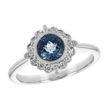 Beautiful in Blue Topaz Ring