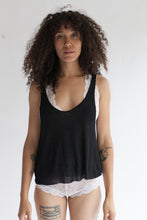 Cashmere Rib-knit 4-Way Reversible Scoop Neck Tank Top