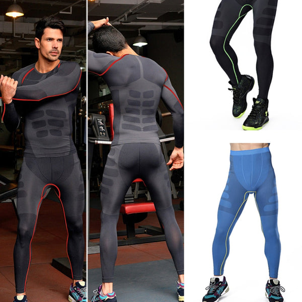 Men's Base Layer Compression Thermal Gym Wear
