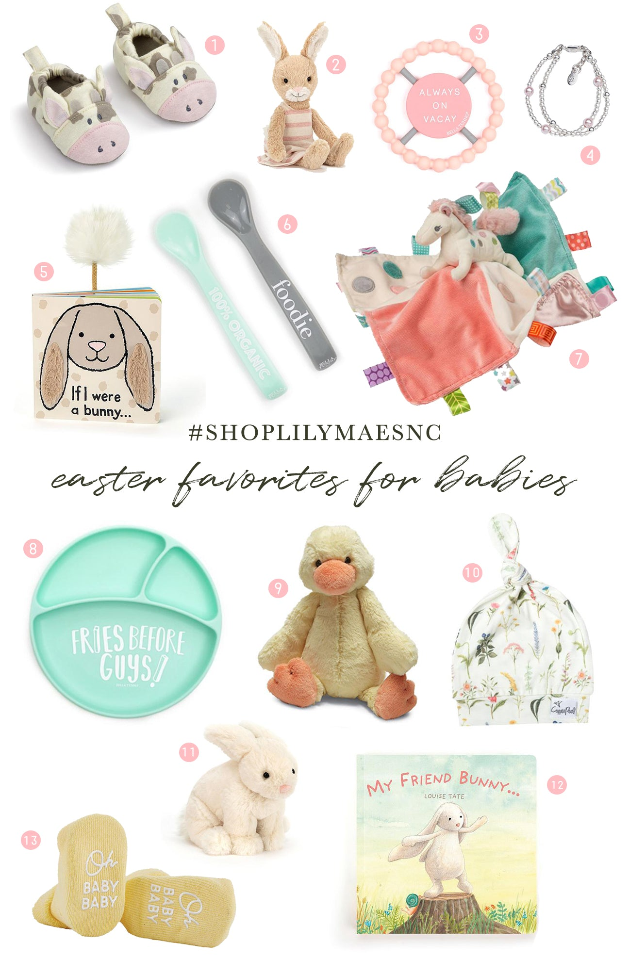 Easter Basket ideas for Babies – LILYMAES