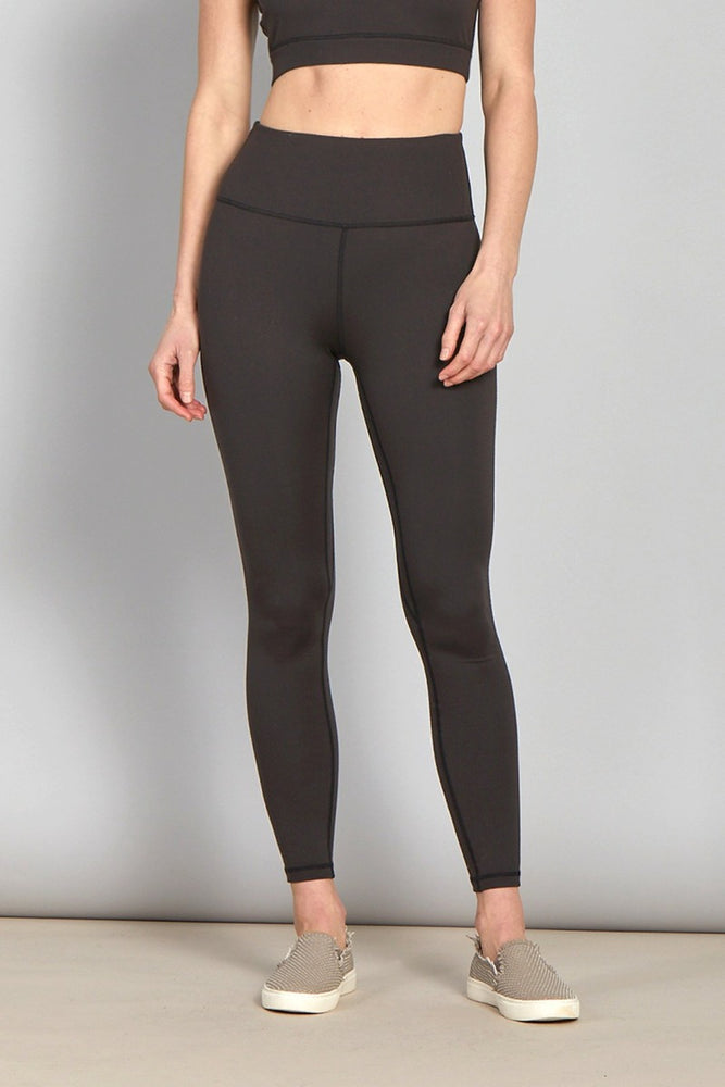 Andia Performance Leggings | Black