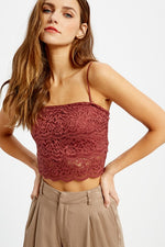 Lace Bralette With Removable Straps