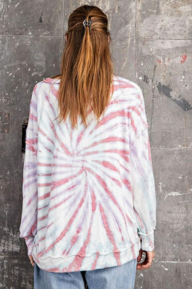 Storm Washed Tie Dye Pullover