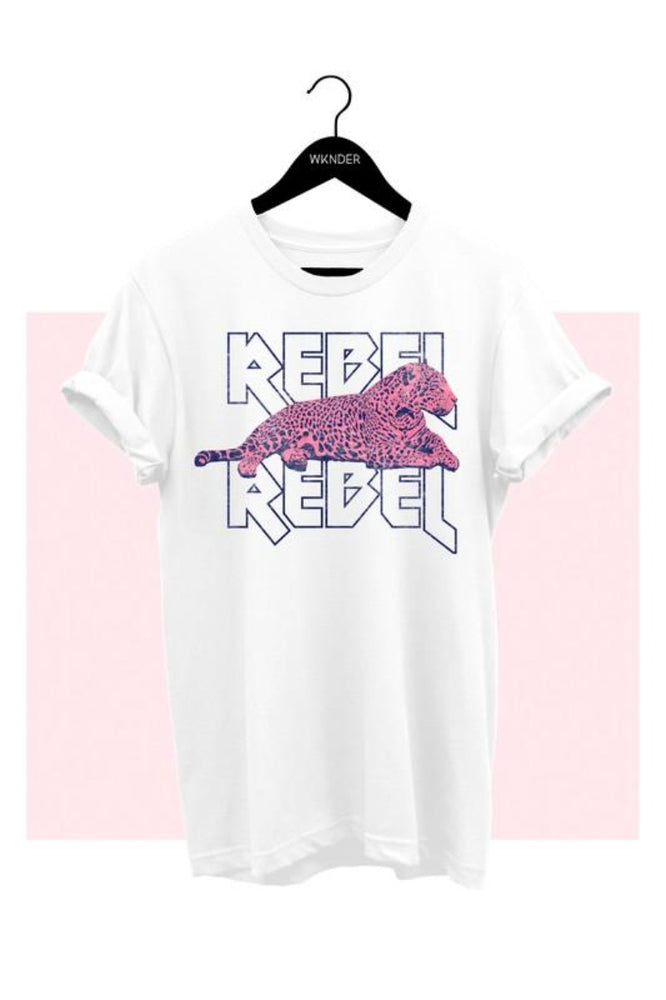 Rebel Leopard Graphic Tee