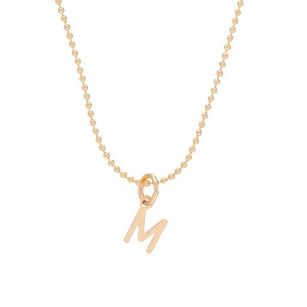 "16"" Respect Initial Necklace"