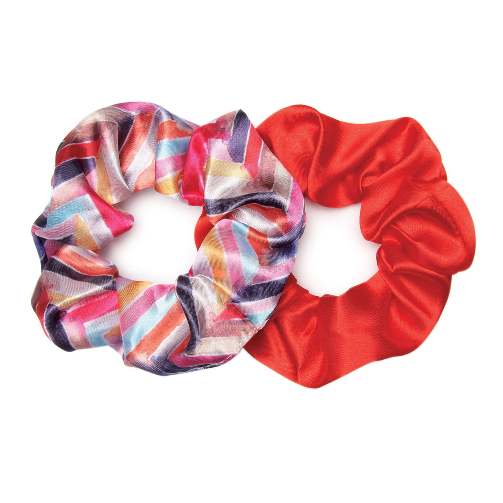 Scrunchie 2 Pack | Mountain Fire