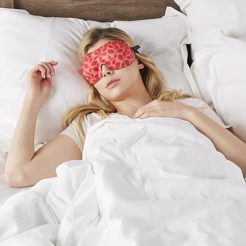 40 Blinks Sleep Mask | Hibiscus Leaf