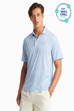 Bimini BRRR® Striped Performance Polo