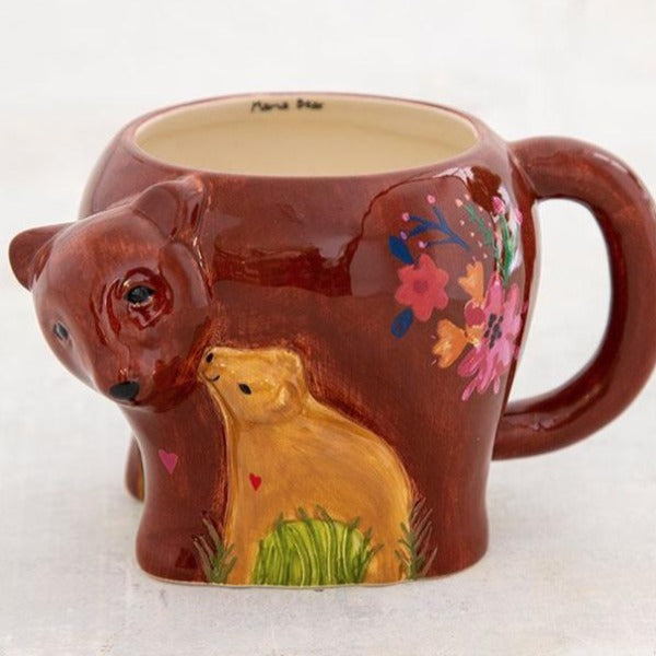 Mama Bear Folk Art Mug