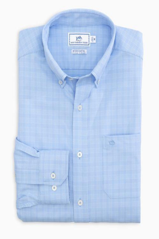 Prince of Whales Intercoastal Sport Shirt - Sky Blue