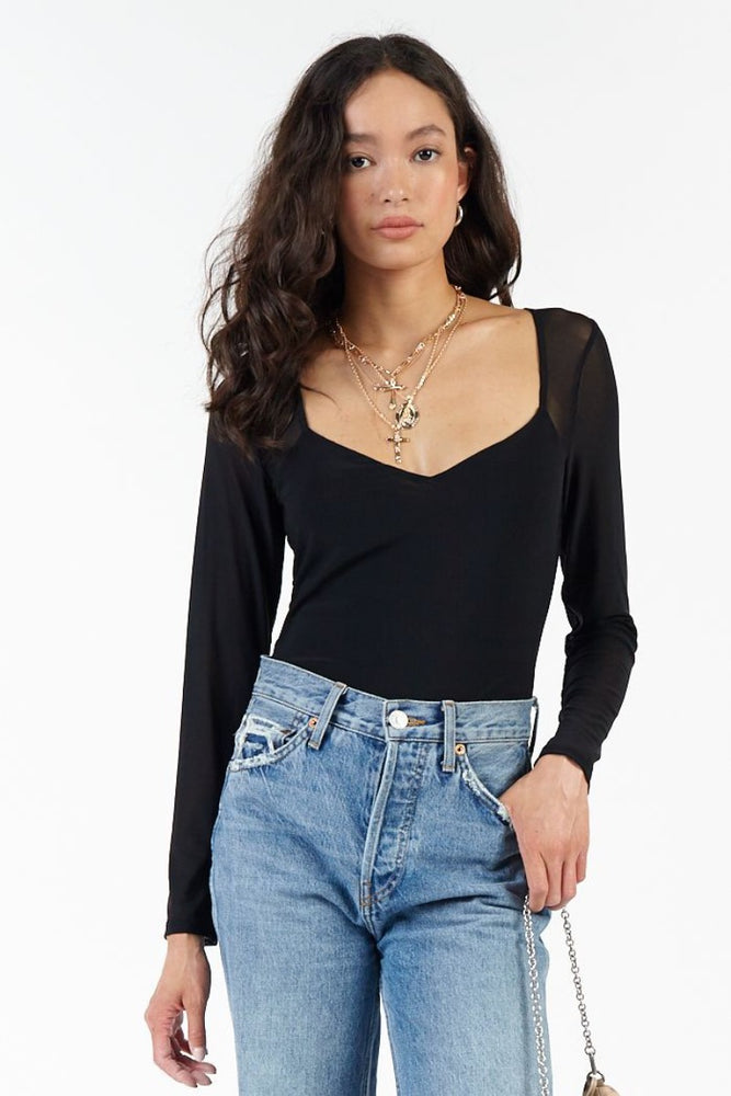 Dawn Mesh Bodysuit