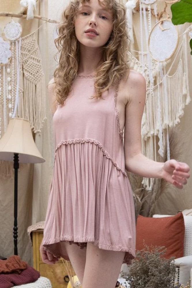 Sweet & Simple Babydoll Top