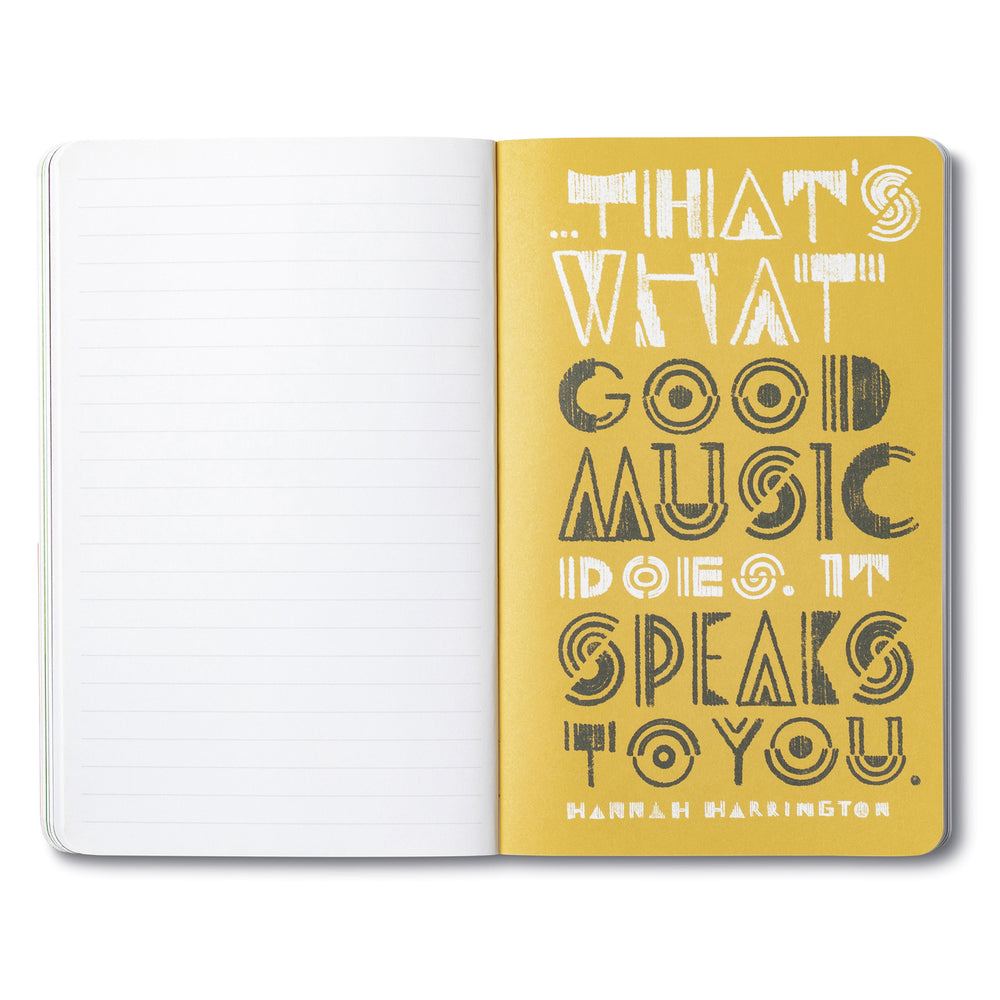 Write Now Journal | Let Your Music Play
