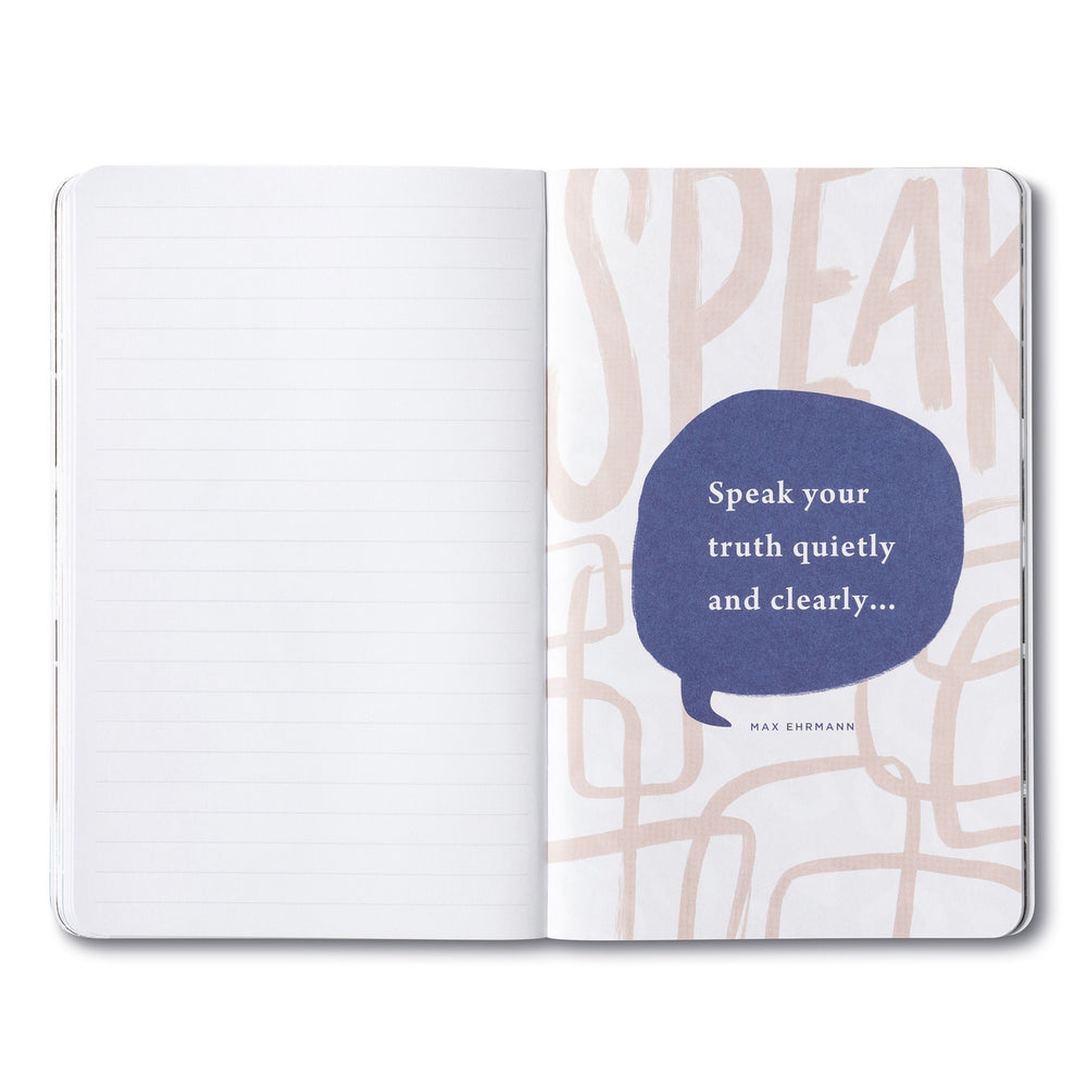 Write Now Journal | Speak Your Truth